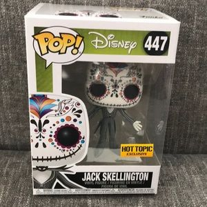 Funko Pop Jack Skellington Hot Topic Exclusive